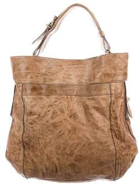 Givenchy Distressed Leather Hobo