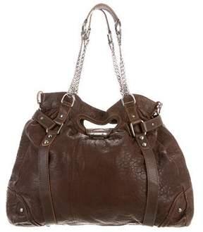 AllSaints Grained Leather Satchel