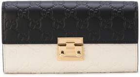 Gucci Padlock Wallet With Detachable Chain - WHITE - STYLE