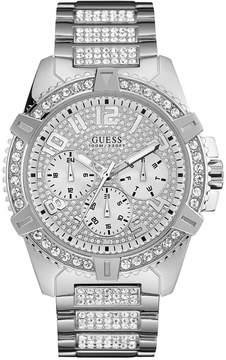 GUESS Men's Stainless Steel Bracelet Watch 50mm U0799G1