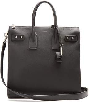 Saint Laurent Sac de Jour leather tote bag