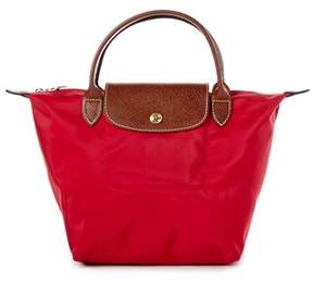 Longchamp Le Pliage Small Nylon Handbag. - RED - STYLE