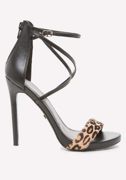 Bebe Layla Calf Hair Sandals