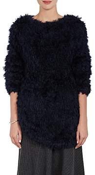 08sircus Women's Fuzzy Oversized Sweater