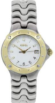 Ebel Sportwave 18K Gold & Stainless Steel 26mm Womens Watch