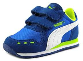 Puma Cabana Racer Mesh V Youth Round Toe Synthetic Blue Sneakers.