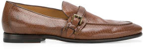 Silvano Sassetti textured buckle loafers