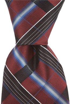 Murano Border Plaid Traditional Silk Tie
