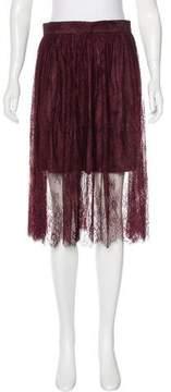 Pinko Lace knee-Length Skirt