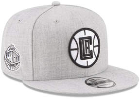 New Era Boys' Los Angeles Clippers The Heather 9FIFTY Snapback Cap