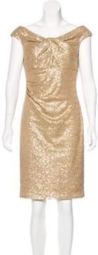 David Meister Sequin Cocktail Dress