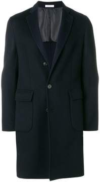 Boglioli classic straight-fit coat