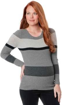 A Pea in the Pod Striped Maternity Sweater