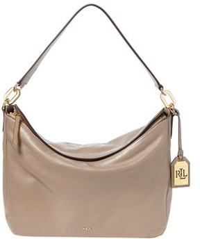 Lauren Ralph Lauren Callen Leather Shoulder Bag.