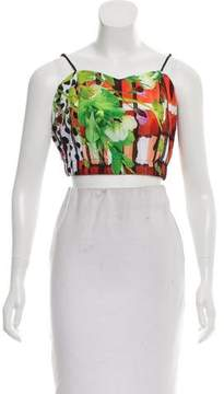 Clover Canyon Printed Crop Top w/ Tags
