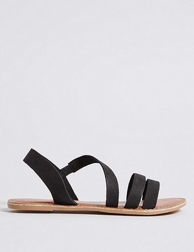 Marks and Spencer Leather Asymmetric Sandals