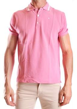 Ballantyne Men's Pink Cotton Polo Shirt.