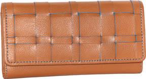 Nino Bossi Winona Woven Leather Wallet (Women's)