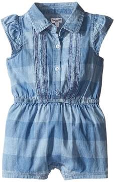 Splendid Littles Gingham Check Romper Girl's Jumpsuit & Rompers One Piece