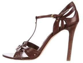 Tom Ford Leather Embellished Sandals