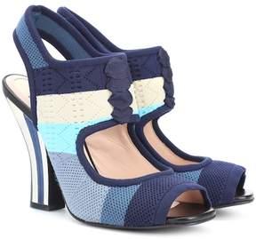 Fendi Knitted sandals
