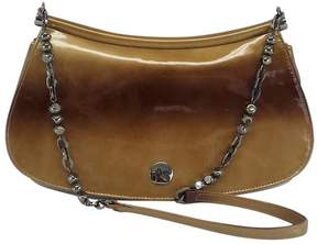 Stuart Weitzman Brown Ombre Patent Leather Baguette