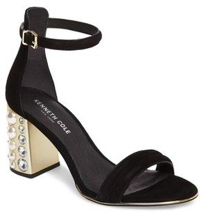 Kenneth Cole New York Women's Luisa Imitation Pearl Embellished Sandal