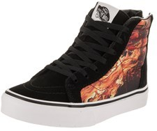 Vans Kids Sk8-hi Zip (dragon) Skate Shoe.