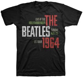 Bravado The Beatles Black 'Hollywood Bowl' Tee - Men's Regular