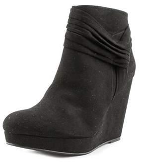 Thalia Sodi Chelaa Round Toe Suede Bootie.