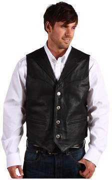 Roper Nappa Notch Collar Vest Men's Vest