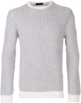 Ermenegildo Zegna ribbed knitted sweater