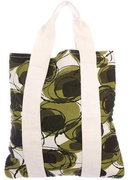 Marni Printed Canvas Tote