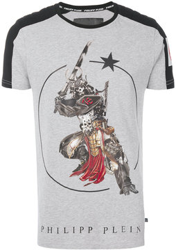 Philipp Plein fighter print T-shirt