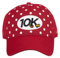 Disney Minnie Mouse runDisney Baseball Cap for Adults - 10K - Red