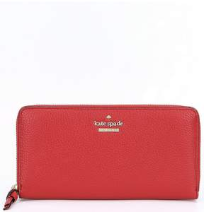 Kate Spade Jackson Street Collection Lacey Zip Wallet - RED CARPET - STYLE