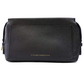 Victoria Beckham Black Leather Travel Bag
