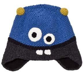 Barts Black and Blue Monter Joey Earflap