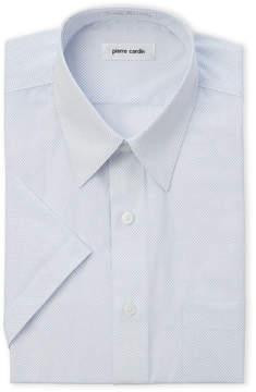 Pierre Cardin Mini Dot Regular Fit Short Sleeve Shirt