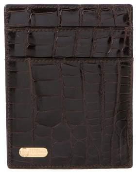 Fendi Alligator & Leather Wallet