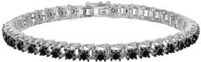 Black Diamond Sterling Silver 3-ct. T.W. Tennis Bracelet