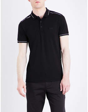 BOSS GREEN Slim-fit jersey polo shirt