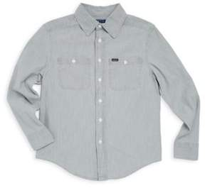 Ralph Lauren Little Boy's& Boy's Cotton Workshirt