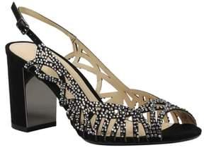 J. Renee Tahira Embellished Cutout Sandal