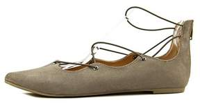 Material Girl Womens Ibby Pointed Toe Ballet Flats.