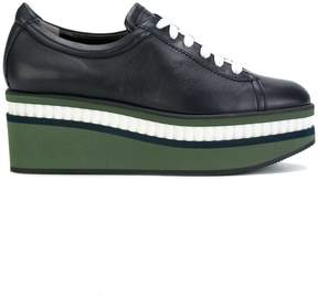 Robert Clergerie wedge lace-up shoes