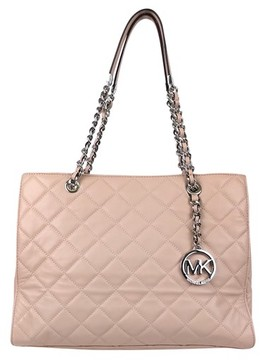 Michael Kors Rose Pink Quilted Purse - PINK - STYLE