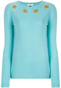 Bella Freud star spangled sweater