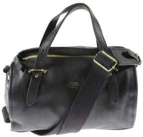 Vince Camuto Womens Cass Leather Sleek Barrel Handbag