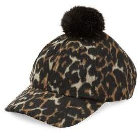 Collection 18 Animal Print Baseball Cap